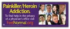 Painkiller/Heroin Addiction banner
