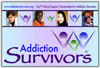 Addiction Survivors Postcard