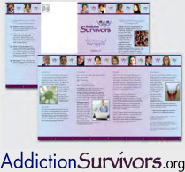 Addiction Survivors Peer Support Brochure