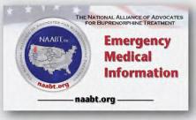 NAABT Emergency Medical Information