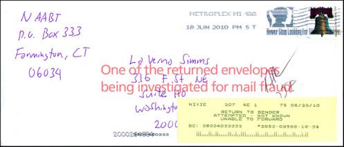 Imposter Envelope